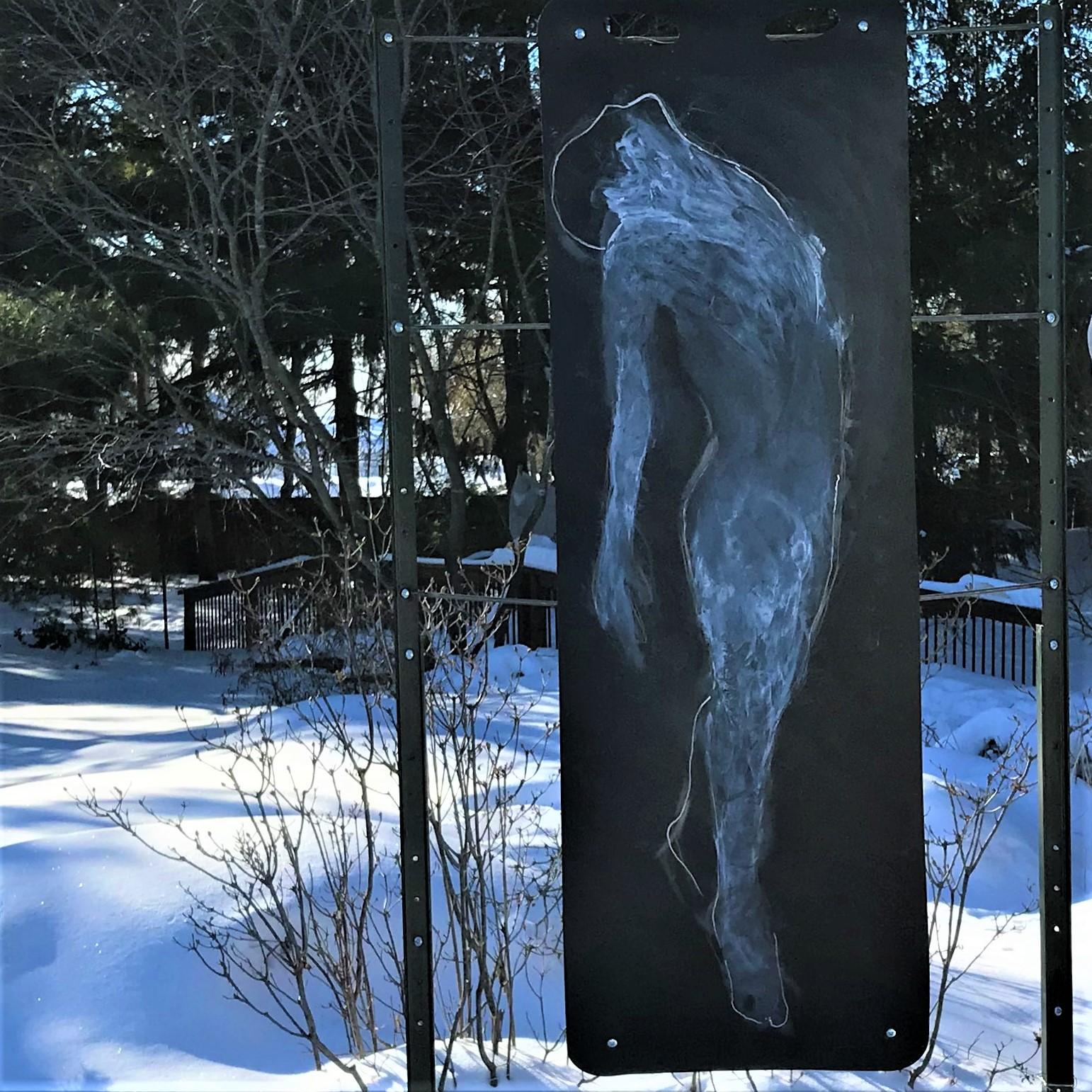 Caroline Bertrand - Fleurs de neige -
